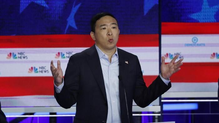 Andrew Yang. Foto: REUTERS/Mike Segar