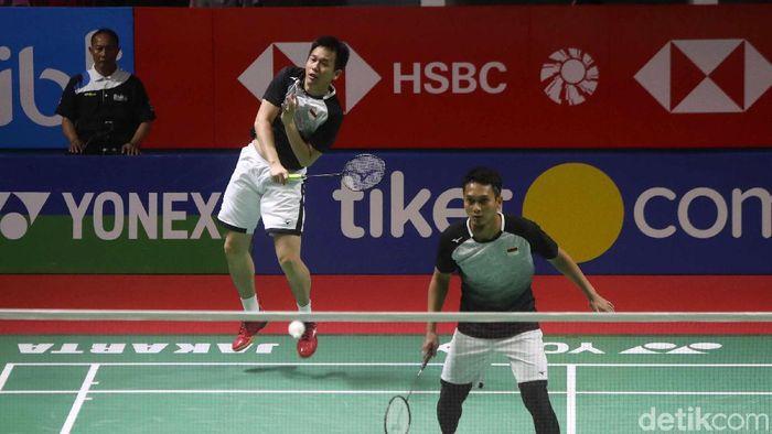 Indonesia meloloskan lima wakil ke perempatfinal Indonesia Open 2019 (Foto: Pradita Utama)