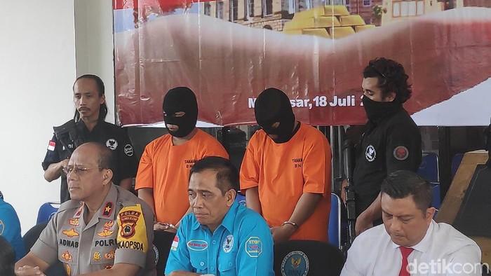 Bandar narkoba di Makassar.