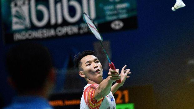 Jonatan Christie jadi satu-satunya wakil tunggal putra di Indonesia Open.