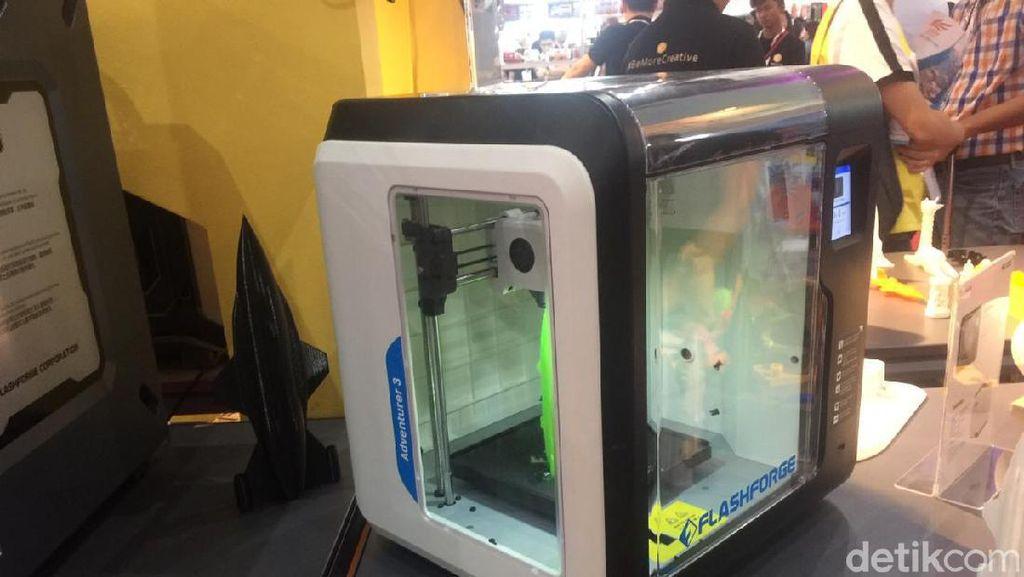 Modal Printer 3D Bisa Bisnis Custom Action Figure hingga Kaki Palsu