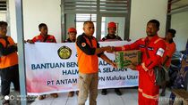 Antam Jadi Koordinator Penyaluran Bantuan Korban Gempa Halsel