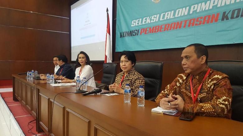 Pansel KPK Gali Pengetahuan Korupsi Capim di Tes Uji Kompetensi