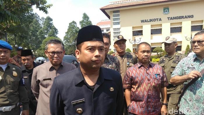 Foto: Wali Kota Tangerang Arief Wismansyah (Adhi Indra P/detikcom)