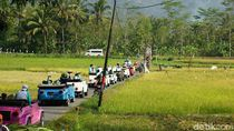 Foto Menembus Pedesaan Magelang dengan Mobil VW Camat