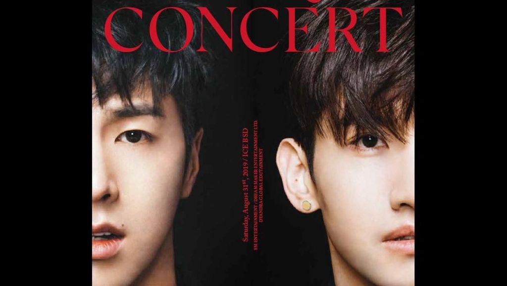 TVXQ Konser di Jakarta 31 Agustus, Tiketnya Dijual Mulai Rp 900 Ribu