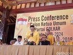 Deklarasi Caketum Golkar, Bamsoet Singgung Pasukan Singa Dipimpin Domba