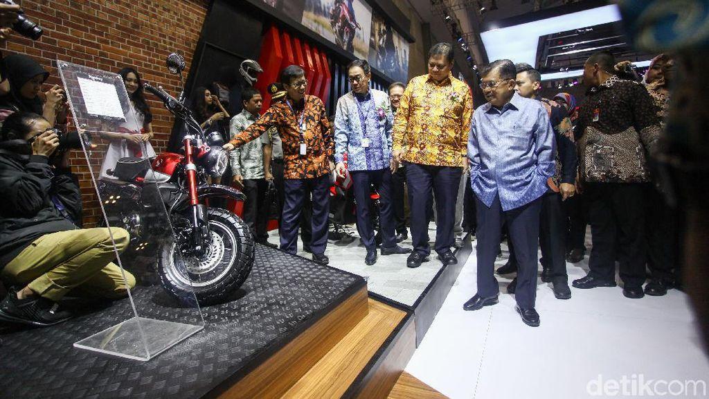 Kata Wapres, Pemerintah Terus Dukung Industri Otomotif