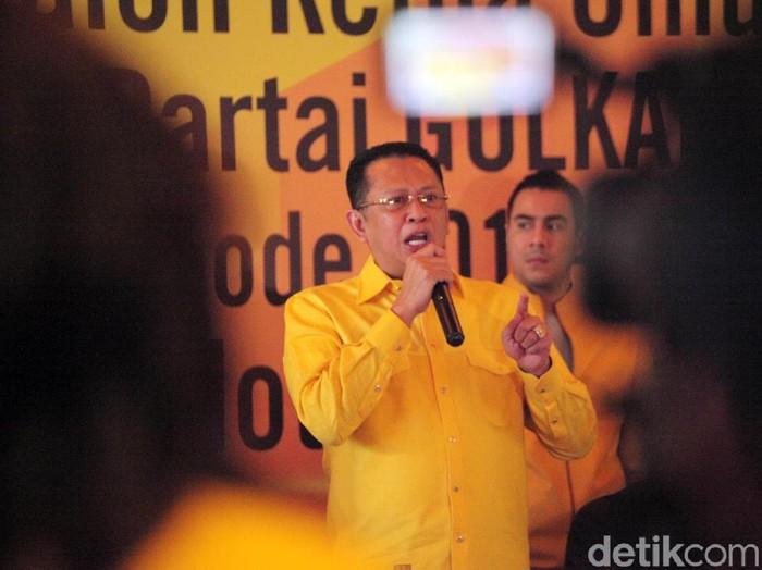 Calon Ketua Umum Golkar Bambang Soesatyo (Lamhot Aritonang/detikcom)