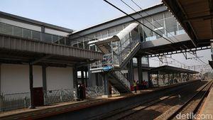 KAI Resmikan Skybridge Stasiun Batuceper