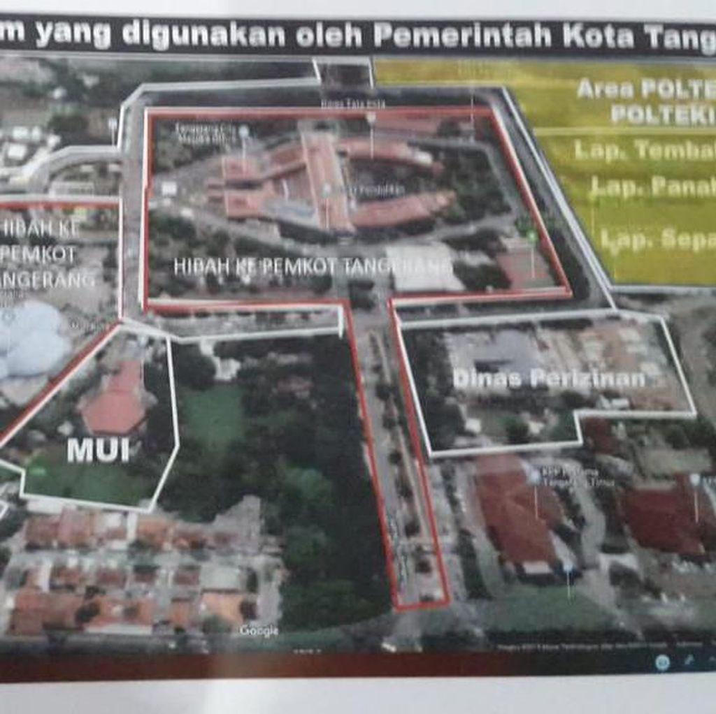 Ini 11 Hektare Tanah Kemenkum yang Dilaporkan Diserobot Pemkot Tangerang