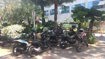 Penuh Motor, Parkiran Sepeda di Balai Kota DKI Akhirnya Dipindahkan