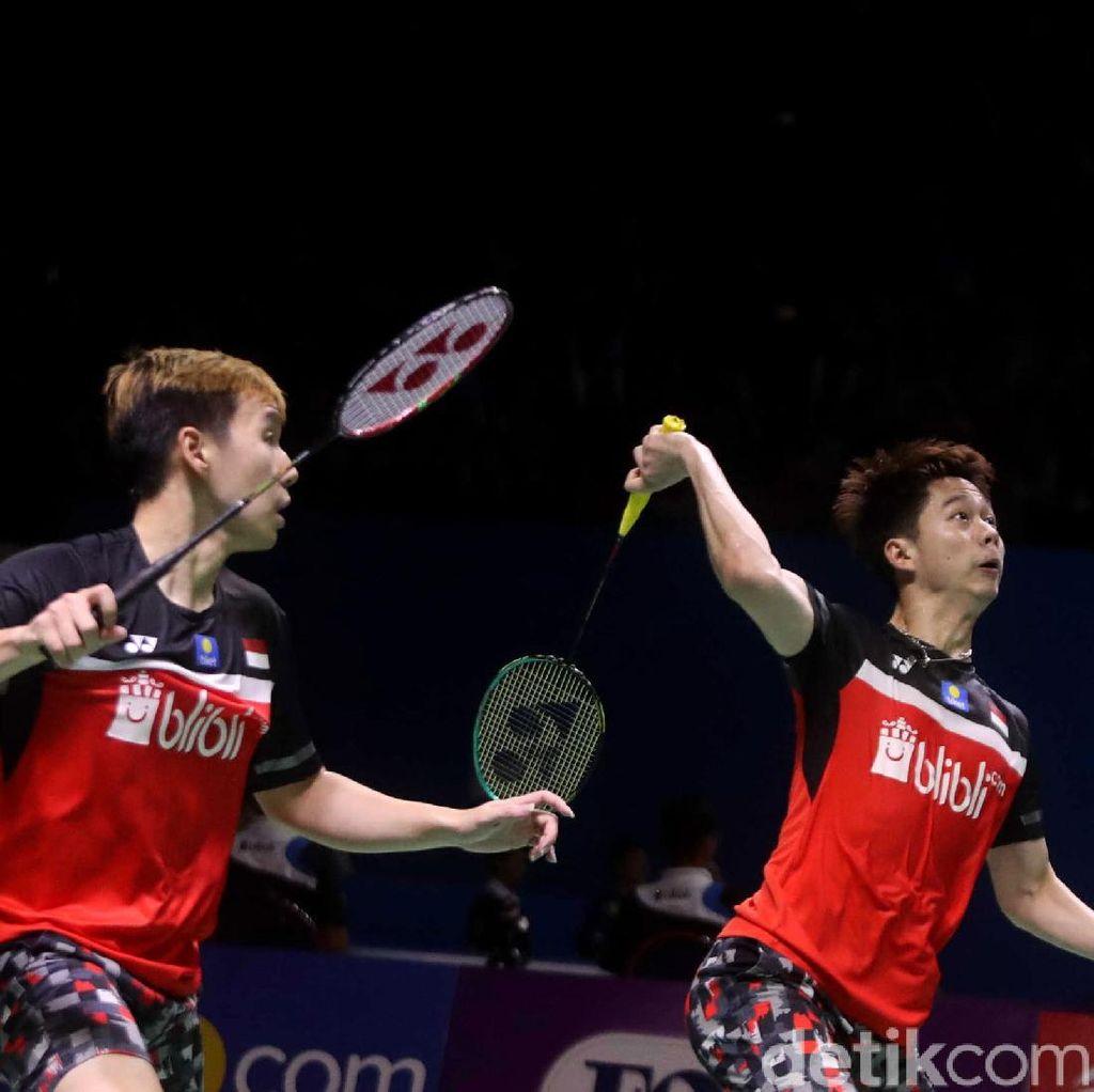 Lolos, Kevin/Marcus Jumpa Hendra/Ahsan di Final Indonesia Open