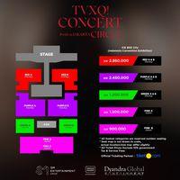Tiket Konser TVXQ di Jakarta Dijual 25 Juli