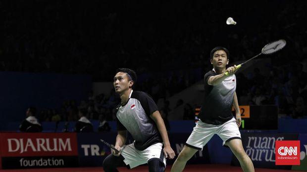 Hasil Indonesia Open 2019: Ahsan/Hendra