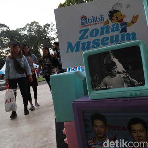 Mengenal Bintang Indonesia Open di Zona Museum