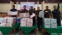 Ini Tumpukan Uang Rp 36 M Yang Disita Kejati Aceh
