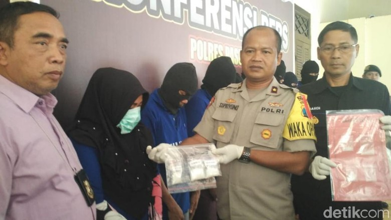 Seorang Bumil Ditangkap Saat Edarkan Sabu di Pasuruan, Suaminya Kabur
