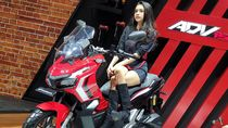 Ganteng Abis! Nih Wujud Motor Petualang Baru Honda di GIIAS 2019