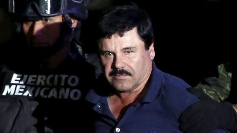 Raja kartel Narkoba Meksiko 'El Chapo' dipenjara seumur hidup