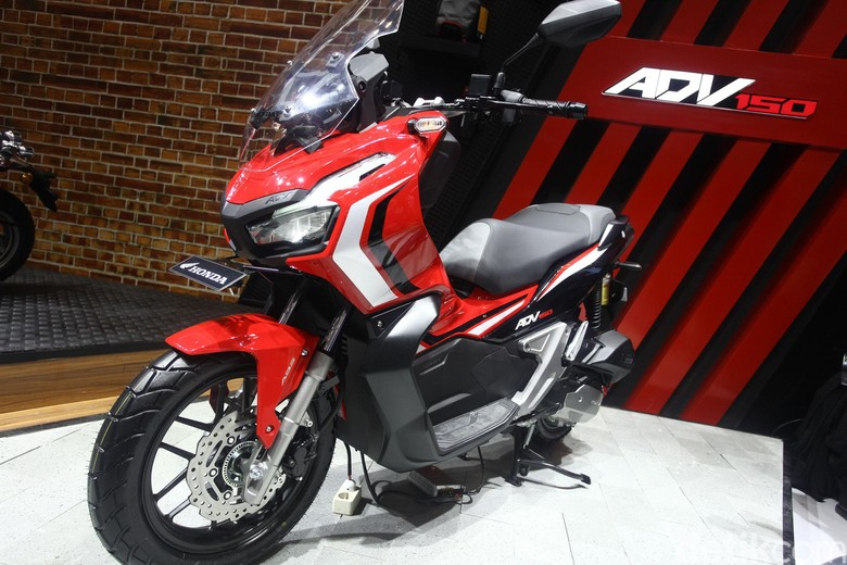 Honda ADV 150. Foto: Rifkianto Nugroho