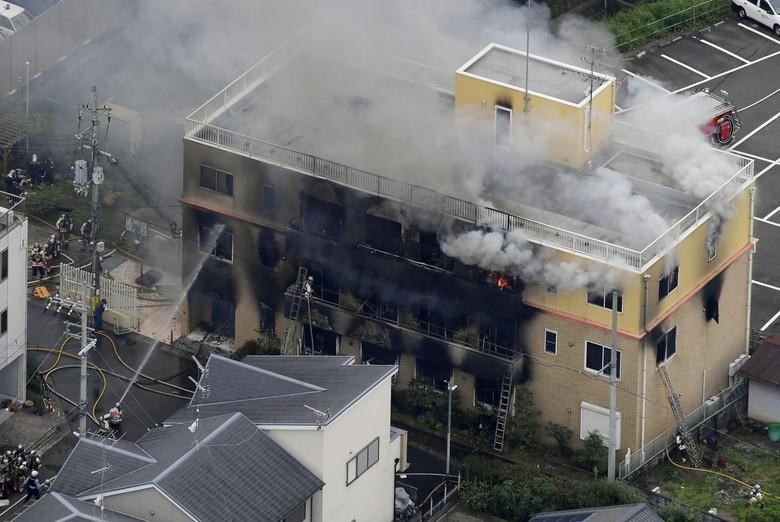 Studio Kyoto Animation Kebakaran, Berikut Ini 5 Faktanya!