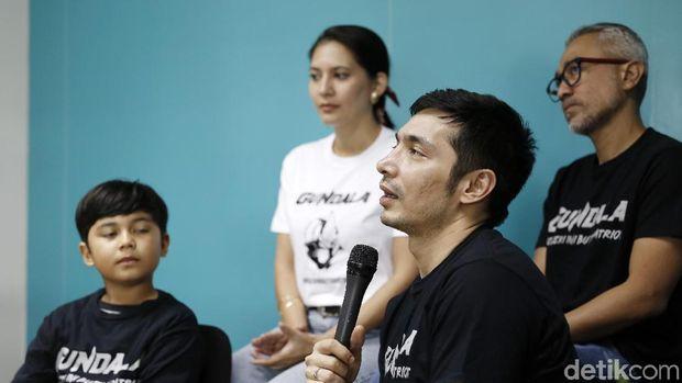 Untuk 'Gundala', Para Aktor Latihan Silat Berbulan-bulan