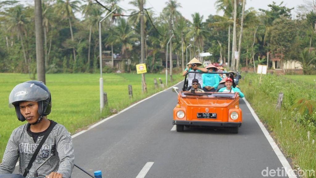 Dulu Alat Politik, Mobil VW Camat Kini Jadi Wisata Andalan Magelang