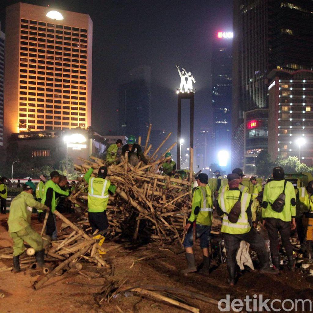 Bambu Getah Getih Rp 550 Juta Dibongkar, PKB: Nggak Masalah, Bukan Pakai APBD