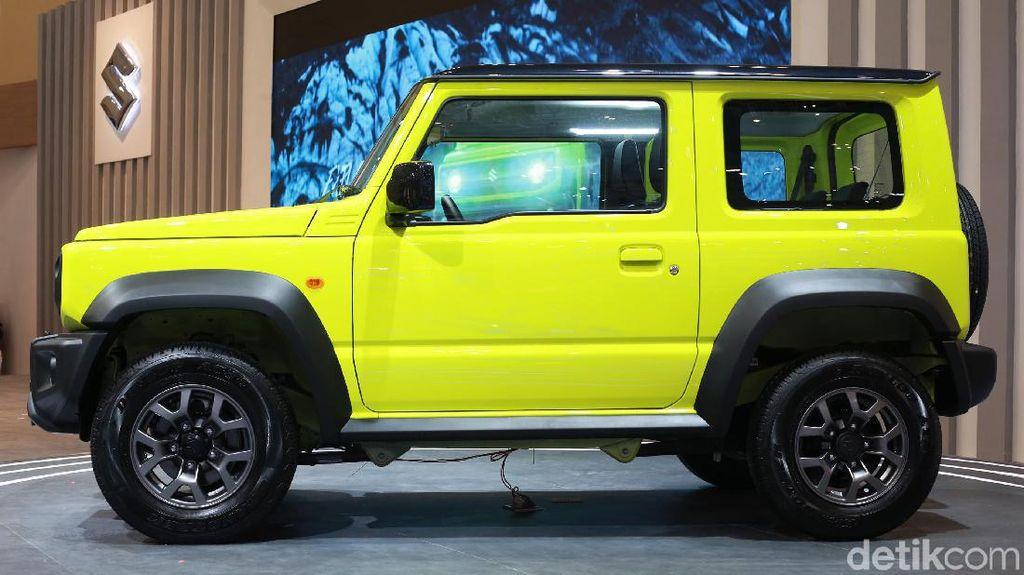 GIIAS 2019: Tembus Rp 300 Juta, Ini Fitur dan Teknologi Suzuki Jimny