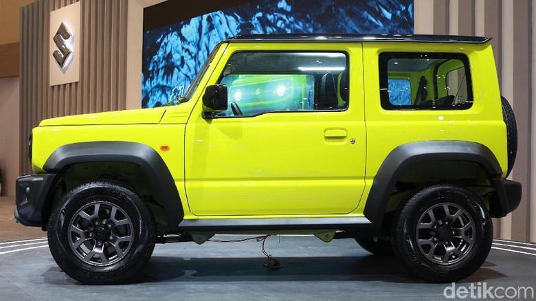 Suzuki jimny Foto: Ari Saputra