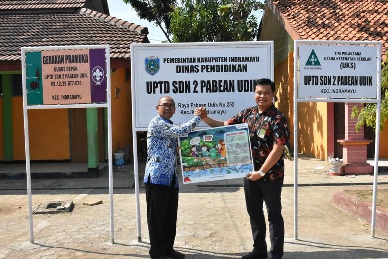 Cara Pertamina Balongan Kenalkan Pentingnya Mangrove ke Siswa SD