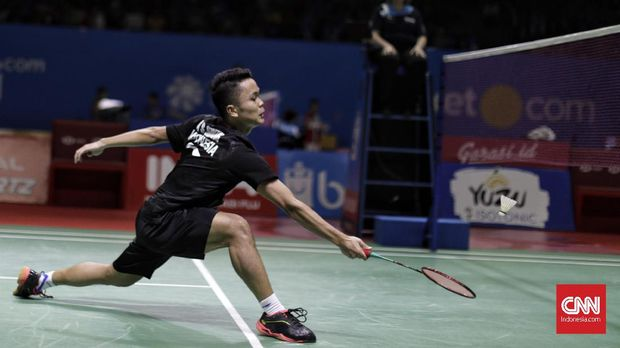 Target Semifinal untuk Jonatan dan Ginting di Kejuaraan Dunia