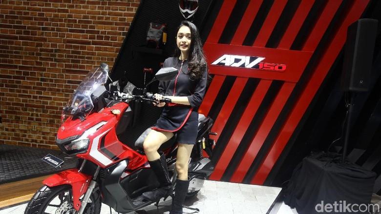Honda ADV 150 Foto: Rifkianto Nugroho