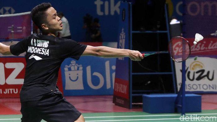 Anthony Ginting dkk hanya ditarget satu gelar di Japan Open 2019 (Pradita Utama/detiksport)