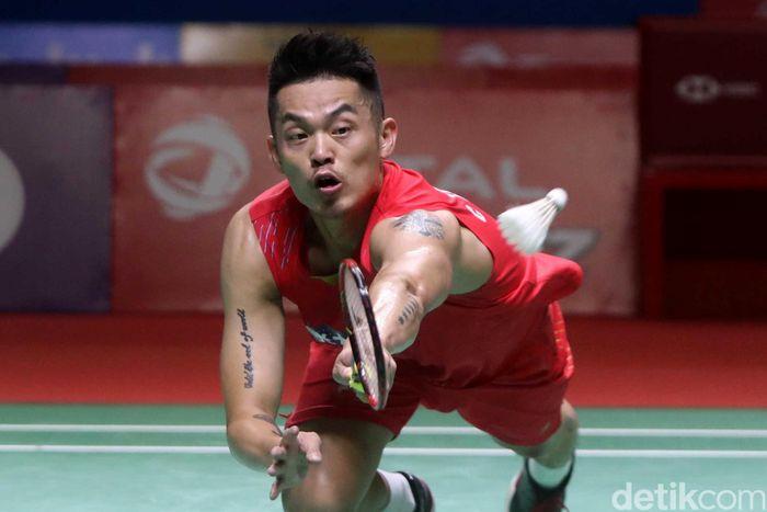 Lin Dan tersingkir dari Indonesia Open usai dikalahkan wakil dari Taiwan, Chou Tien Chen.