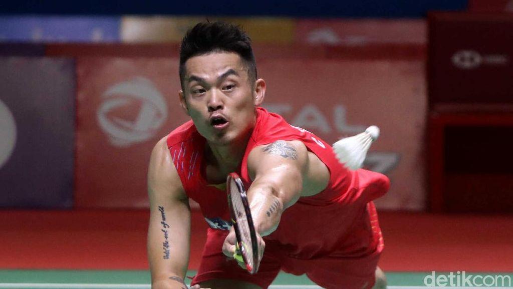 Video Lin Dan Resmi Gantung Raket