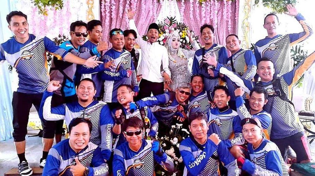 Jersey Baru Komunitas Gowes Rawakalong! Gowes Seru, Lanjut Kondangan