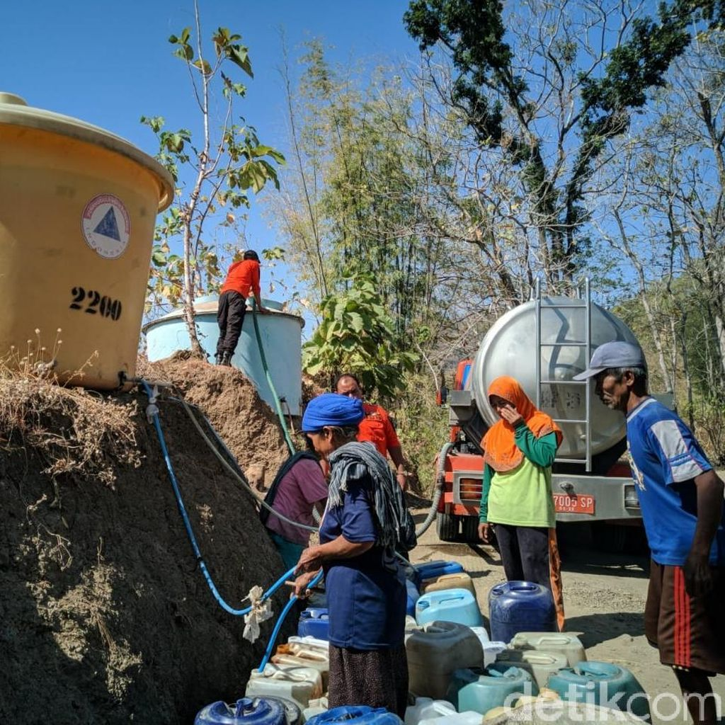 Ponorogo Kekeringan, Pemkab Anggarkan Rp 40 Juta untuk Air Bersih