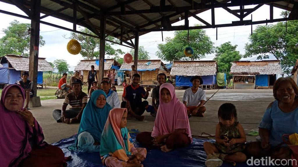 Bolak-balik Direlokasi, Pengungsi Gempa Sigi Mengeluh