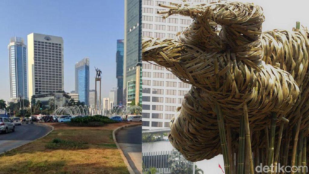 Akhir Kisah 11 Bulan Bambu Setengah Miliar di Bundaran HI