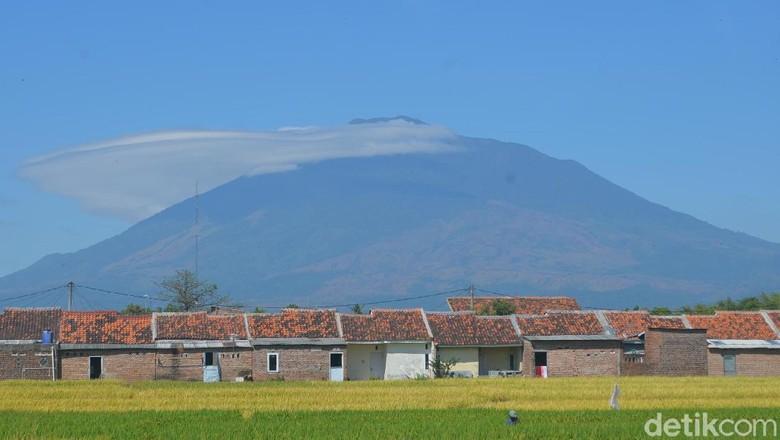 Ilustrasi Gunung Ciremai (Sudirman Wamad/detikcom)