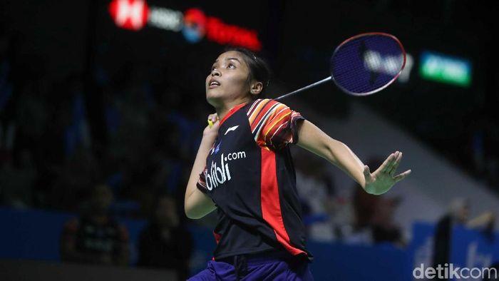 Gregoria Mariska kandas, tunggal putri tak bersisa di Indonesia Open 2019. (Pradita Utama/detikSport)