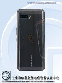 Tampak belakang ROG Phone generasi terbaru.