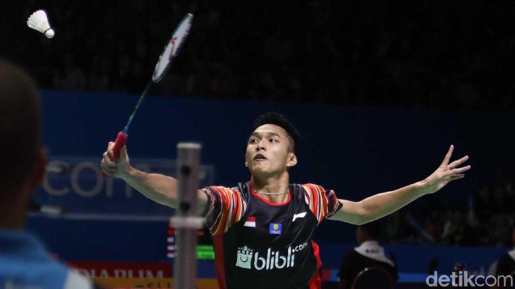 Jonatan Christie Kandas di Perempatfinal Indonesia Open