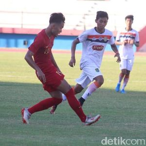 Timnas U-19 Vs Persibo: Garuda Muda Menang 2-1
