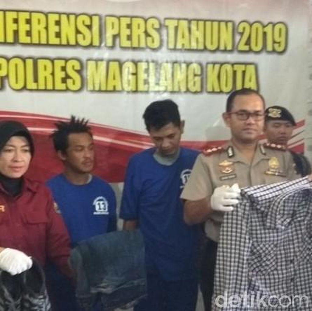 Polisi Ungkap Kronologi Waktu Aksi Lempar Molotov di Magelang
