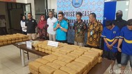 BNN Banten Tangkap Kurir yang Selundupkan Ganja 150 Kg dan Sabu 5,2 Kg