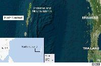 Peta North Sentinel Island (BBC)