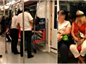 Netizen China Marah karena Bule Tak Didenda Meski Makan di Kereta